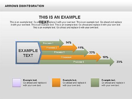 Sankey Diagram, Slide 8, 00401, Process Diagrams — PoweredTemplate.com