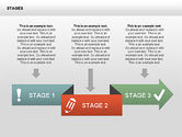 Stage with Icons Diagrams#7