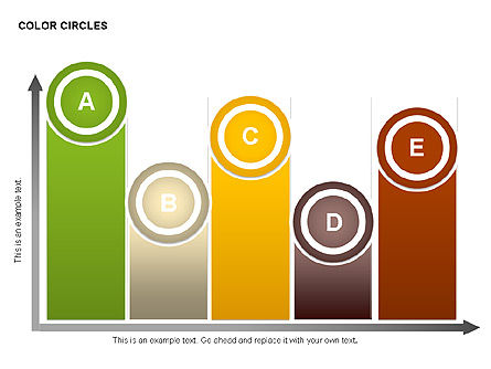 Color Circles Shapes, Slide 9, 00408, Stage Diagrams — PoweredTemplate.com
