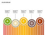 Stage Diagrams: Color Circles Shapes #00408