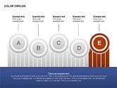 Cores formas de círculos#6