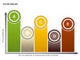 Cores formas de círculos#9