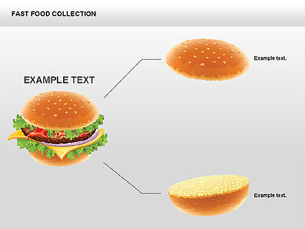 Fast Food Shapes and Charts Slide 2