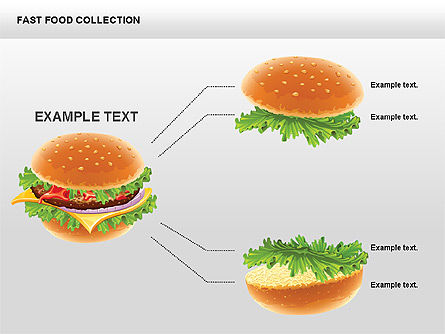 Fast Food Shapes and Charts Slide 3