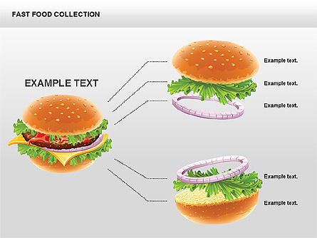 Fast Food Shapes and Charts Slide 4