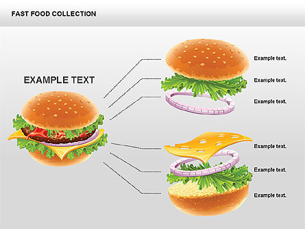 Fast Food Shapes and Charts Slide 5