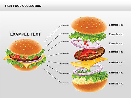 Fast Food Shapes and Charts Slide 6