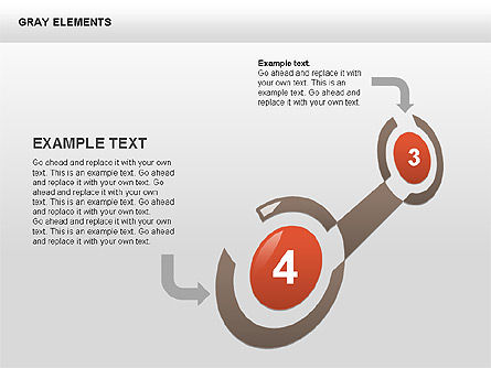 Shapes and Charts, Slide 11, 00415, Process Diagrams — PoweredTemplate.com