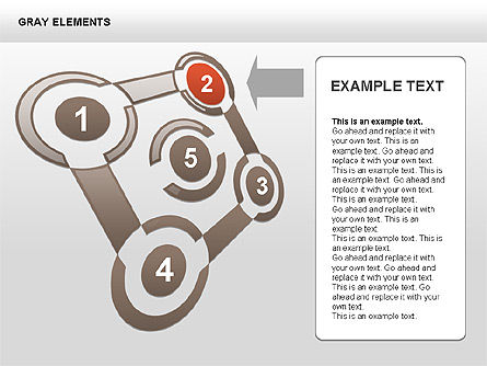 Shapes and Charts, Slide 6, 00415, Process Diagrams — PoweredTemplate.com