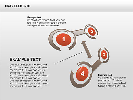 Shapes and Charts, Slide 9, 00415, Process Diagrams — PoweredTemplate.com