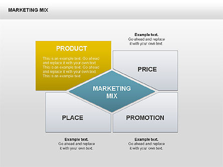 Marketing Charts, Slide 4, 00419, Matrix Charts — PoweredTemplate.com