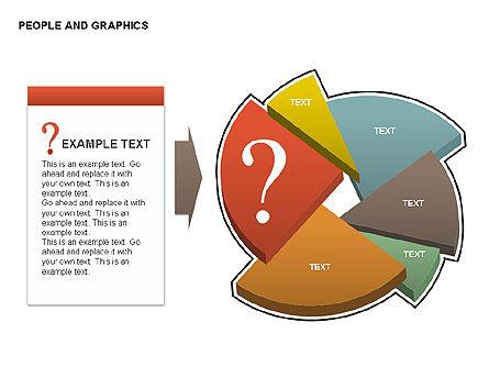 People Charts, Slide 7, 00422, Pie Charts — PoweredTemplate.com