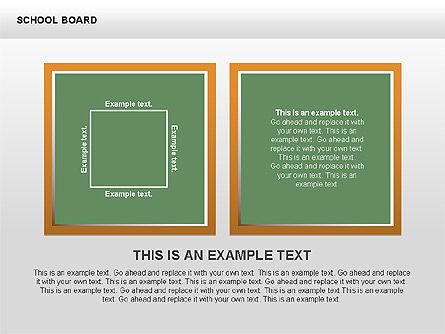 School Board with Globe Diagrams, Slide 2, 00428, Education Charts and Diagrams — PoweredTemplate.com
