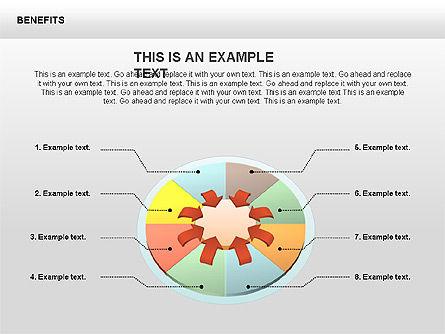 Benefits Diagrams, Slide 2, 00429, Business Models — PoweredTemplate.com