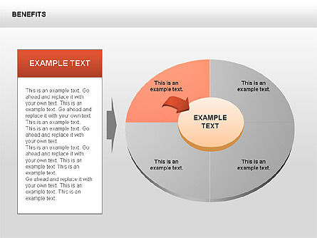 Benefits Diagrams, Slide 3, 00429, Business Models — PoweredTemplate.com