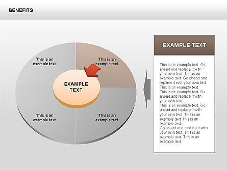 Benefits Diagrams, Slide 4, 00429, Business Models — PoweredTemplate.com