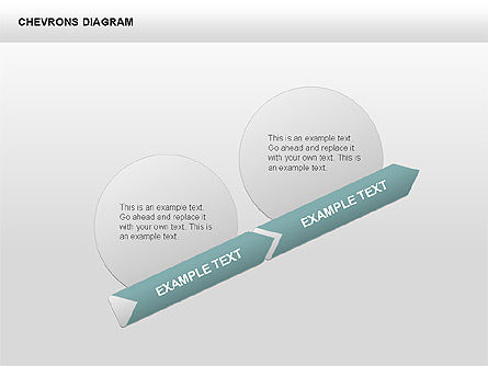 3D Chevron Diagram, 00430, Stage Diagrams — PoweredTemplate.com