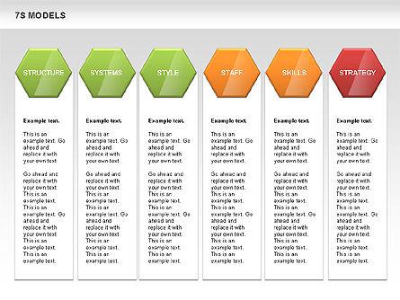 7S Model Diamond Diagram, Slide 11, 00433, Business Models — PoweredTemplate.com