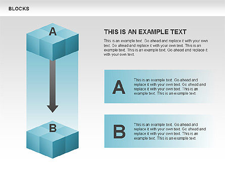 Blocks Charts, Slide 2, 00438, Business Models — PoweredTemplate.com