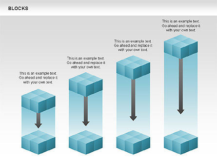 Blocks Charts, Slide 3, 00438, Business Models — PoweredTemplate.com