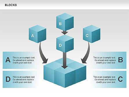 Blocks Charts, Slide 4, 00438, Business Models — PoweredTemplate.com