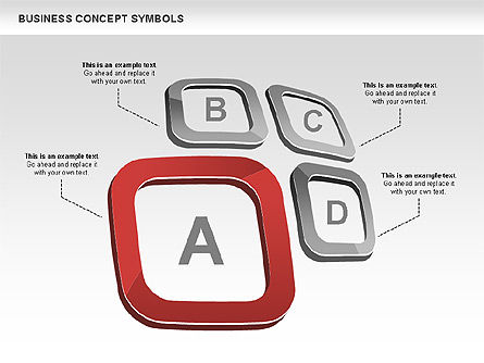 Shapes: Business Concept Shapes and Charts #00439