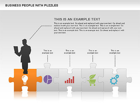 Puzzle Diagrams: Puzzle and Silhouettes #00442