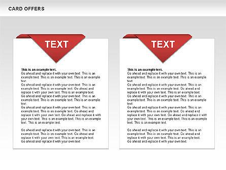 Card Offers Shapes, Slide 3, 00443, Shapes — PoweredTemplate.com