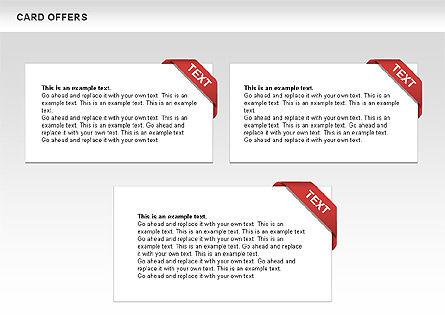 Card Offers Shapes, Slide 4, 00443, Shapes — PoweredTemplate.com
