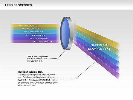 Lens Process Diagrams, Slide 3, 00457, Education Charts and Diagrams — PoweredTemplate.com