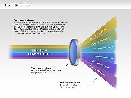 Lens Process Diagrams, Slide 4, 00457, Education Charts and Diagrams — PoweredTemplate.com