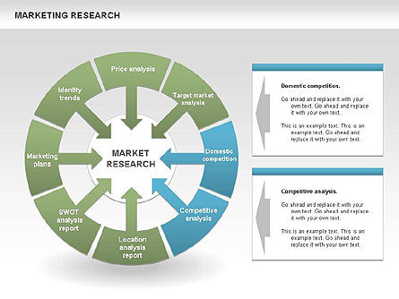 Marketing Research Process Diagrams, Slide 4, 00459, Business Models — PoweredTemplate.com