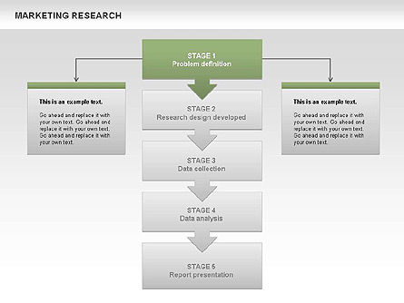 Marketing Research Process Diagrams Slide 9