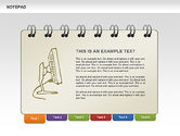 Shapes: Notepad with Sketches Shapes and Diagrams #00462