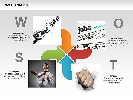 SWOT Analysis Process Diagram Slide 12