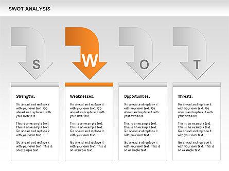 SWOT Analysis Process Diagram Slide 8