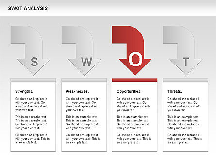 SWOT Analysis Process Diagram Slide 9