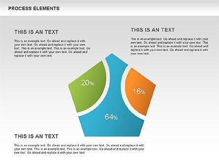 Process Sets Diagrams, 00466, Business Models — PoweredTemplate.com