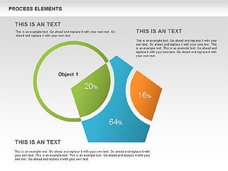 Process Sets Diagrams, Slide 2, 00466, Business Models — PoweredTemplate.com
