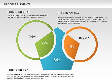 Process Sets Diagrams, Slide 3, 00466, Business Models — PoweredTemplate.com