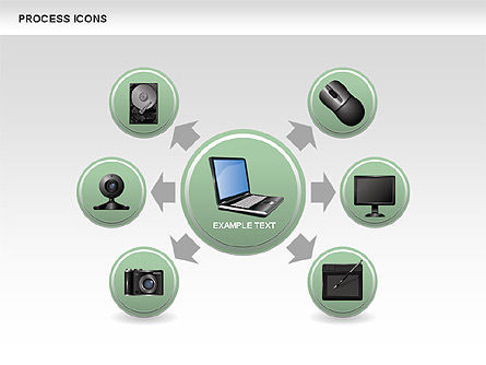Process Diagrams: Process Icons Collection #00467