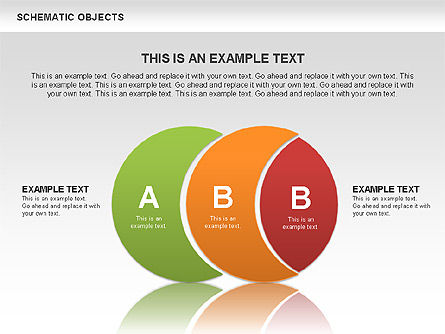 Schematic Objects, Slide 2, 00471, Business Models — PoweredTemplate.com