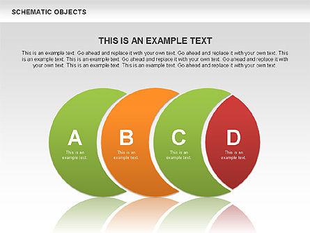 Schematic Objects, Slide 3, 00471, Business Models — PoweredTemplate.com