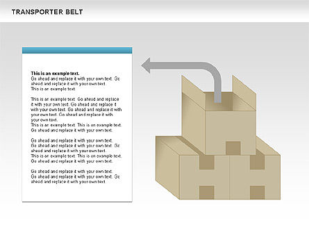 Transporter Belt, Slide 11, 00476, Process Diagrams — PoweredTemplate.com