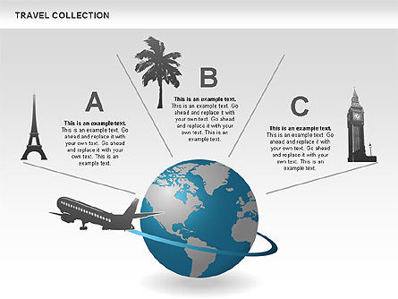 Travel Shapes and Icons Slide 2