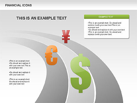 Financial Icons, Slide 2, 00479, Icons — PoweredTemplate.com
