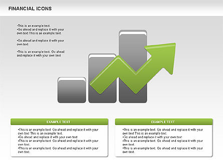 Financial Icons, Slide 4, 00479, Icons — PoweredTemplate.com