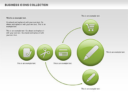 Business Icons, Slide 12, 00483, Icons — PoweredTemplate.com