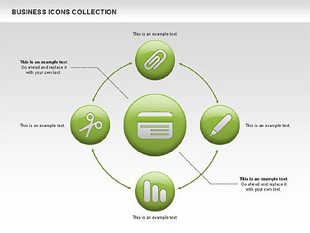 Business Icons, Slide 13, 00483, Icons — PoweredTemplate.com