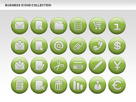 Business Icons, Slide 14, 00483, Icons — PoweredTemplate.com